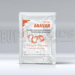 Anavar 50mg Dragon Pharma US DOM