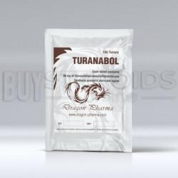 Turanabol Dragon Pharma US DOM